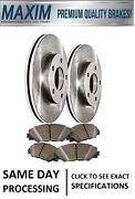 Front Oe Spec Rotors And Premium Semi Met Pads Triple Layer Wolverine Shims