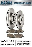 Front Oe Spec Quiet Technology Rotors And Premium Ceramic Pads Wolverine Shims