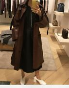 Celine By Phoebe Philo Oldceline Fall 2018 Leather Trench Coat