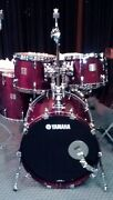 Yamaha Custom Made Birch Cherry Wood Absolute Factory Special Order Sizes Drums