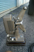 Vintage 16mm Revere Movie Projector Model 48 With Case