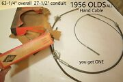 1956 Olds Lisle Bx 961 Emergency Parking Brake Cable Vintage Classic Nors Nos