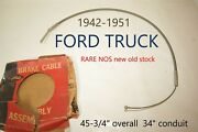 1942-1951 Ford Truck Lisle Emergency Parking Brake Cable Vintage Classic Nors