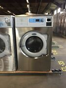 W630cc Wascomat Coin Or Card Operated Multi-load Washer W/ Compass Control Used