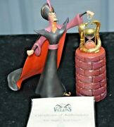Wdcc Collection Disney Villians Oh Mighty Evil One Jafar Aladdin W/coa And Box