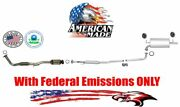 Muffler Exhaust System For Toyota Camry 2.2l 97-01 With Federal Emissions Only