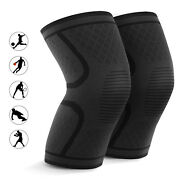 Elastic Anti-slip Compression Knee Support For Arthritis Joint Pain Relief Work
