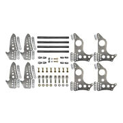 4-link Kit, Chassis Brackets 4130, Housing Brackets 4130, Axle Size 3 And Doubles