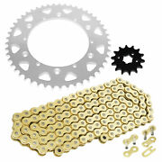 Drive Chain And Sprocket Kit For Yamaha Yz250 1987 1988 1989 1992