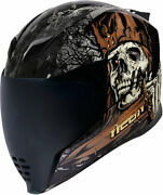 Icon Airflite Uncle Dave Full-face Helmet Black/multi Choose Size