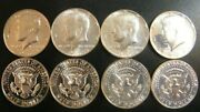 1964 1965 1966 1967 Kennedy Proof And Sms Half Dollar 4 Coin Set Silver W/issues