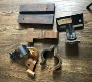 Antique Wood Foundry Casting Form Molds Corley Mfg Sawmill Machinery Tennessee