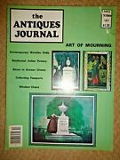 Antiques Journal 1977 Korean Chests Windsor Chairs Wooden Dolls Passports Cigars