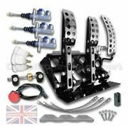 Renault Clio Floor Mounted Hydraulic Pedal Box Kit Andndash Sportline 3-pedal Ap Cylind