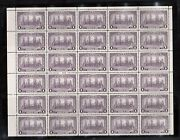 Canada 245i Extra Fine Never Hinged Top Block Of Thirty Analine Die Variety