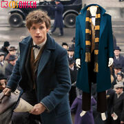 Fantastic Beasts And Where To Find Them Cosplay Newt Scamander Costume Suit Lot