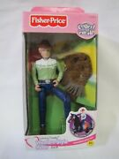 New Fisher Price Loving Family Dollhouse Western Style Horse Rider Man Jack 2001