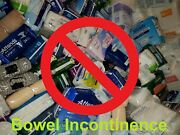 Stop Wasting Diapers Bowel Incontinence Rectal Plug Tampon Suppository 20pc L