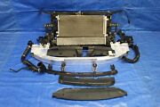 2016 Honda Civic Touring 1.5l Turbo Oem Complete Front Radiator Support 9297