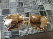 Glasses Gold 100 Authenti In Excellent Condition