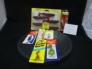 7 Fishing Lures New In Packages Hot Shot Storm Panther Martin Krocodile And More