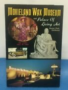 Vintage Guide Book Movieland Wax Museum / Palace Of Living Art Buena Park Ca