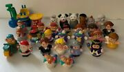 Lot Fisher Price Little People Wrecking Ball Construction Animals Snow White Car