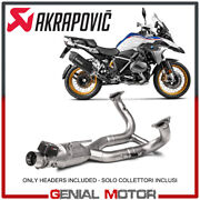 Inox Optional Headers Approved Akrapovic For Bmw Mufflers R1250r - Rs 2019 2021