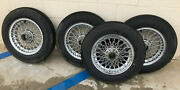 Mg / Austin Healey Spoked Vintage Wheel Set X4 15inch Used Good Condition