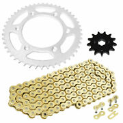 Drive Chain And Sprocket Kit For Honda Crf150f 2003 2004 2005