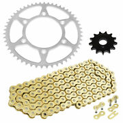 Drive Chain And Sprocket Kit For Honda Crf250r 2004 2005 2006 2007 2008 2009