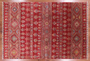 6and039 7 X 9and039 6 Gabbeh Hand Knotted Area Rug - Q2970