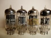 6bl8 12at7 12au7 12ax7 Vacuum Tube Lot Tested As Shown