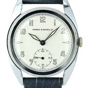 Mimo Hardyandhayes Antique Small Second Manual Winding 17 Jewels Menand039s Watch