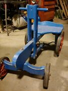 Human Powered Child's Ride On Toy, Vintage Barn Find