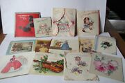 Vintage Greeting Card Lot Birthday Christmas Etc. 30+ And Vintage Sears Post Cards