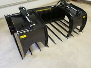 Skid Steer Manure Ag Grapple Hd Design Sizes Available 60 68 76 84.