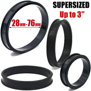 Pair Supersize Soft Silicone Ear Tunnels Flexible Plugs Gauges Eyelets 28mm-76mm