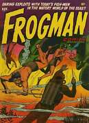 Frogman Comics Golden Age Comic Collection On Cd Rom