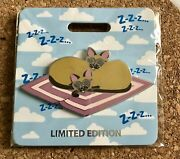 2019 Disney D23 Expo Wdi Mog Lady And Tramp Si And Am Cat Nap Pin Le 300