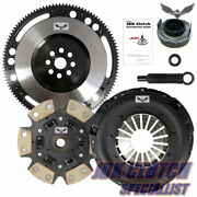 Jd Stage 3 Clutch+9lbs Flywheel Kit Fits 1992-1993 Acura Integra Ys1 Ysk1 Cable