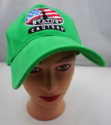 Statue Of Liberty Cruises Hat Green Adjustable Baseball Cap Pre-owned St158