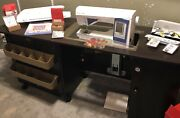 Husqvarna 965q Sewing Quilting Machine With Extras And Table With Lift