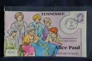 Alice Paul Great American Series 78c Stamp Fdc Hp Collinsx2401 S2943 Suffrage