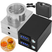 3x5 Double Layer Rosin Press Plate Kit Durable Dual Heater Electric Nail Box
