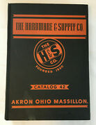 1941 The Hardware And Supply Co Catalog Book 42 Akron Massillon Oh 1860 Industrial
