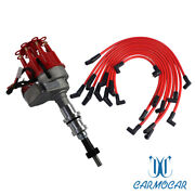 Spark Plug Wires Block Ford 289-302 Red Small Cap Hei Distributor And 8mm