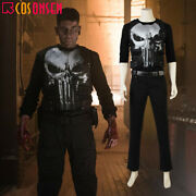 The Punisher Season 1 Frank Castle Jane Cosplay Costume Halloween Outfits