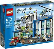 Lego 60047 City Police Station Building Block Set New Seal