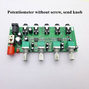 Stereo Audio Source Board Four Input Mix For One Way For Headphone Amplifier
